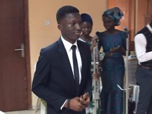 Ademola David Adebola, winner of 2017 Babatunde Edu Youth essay Competition